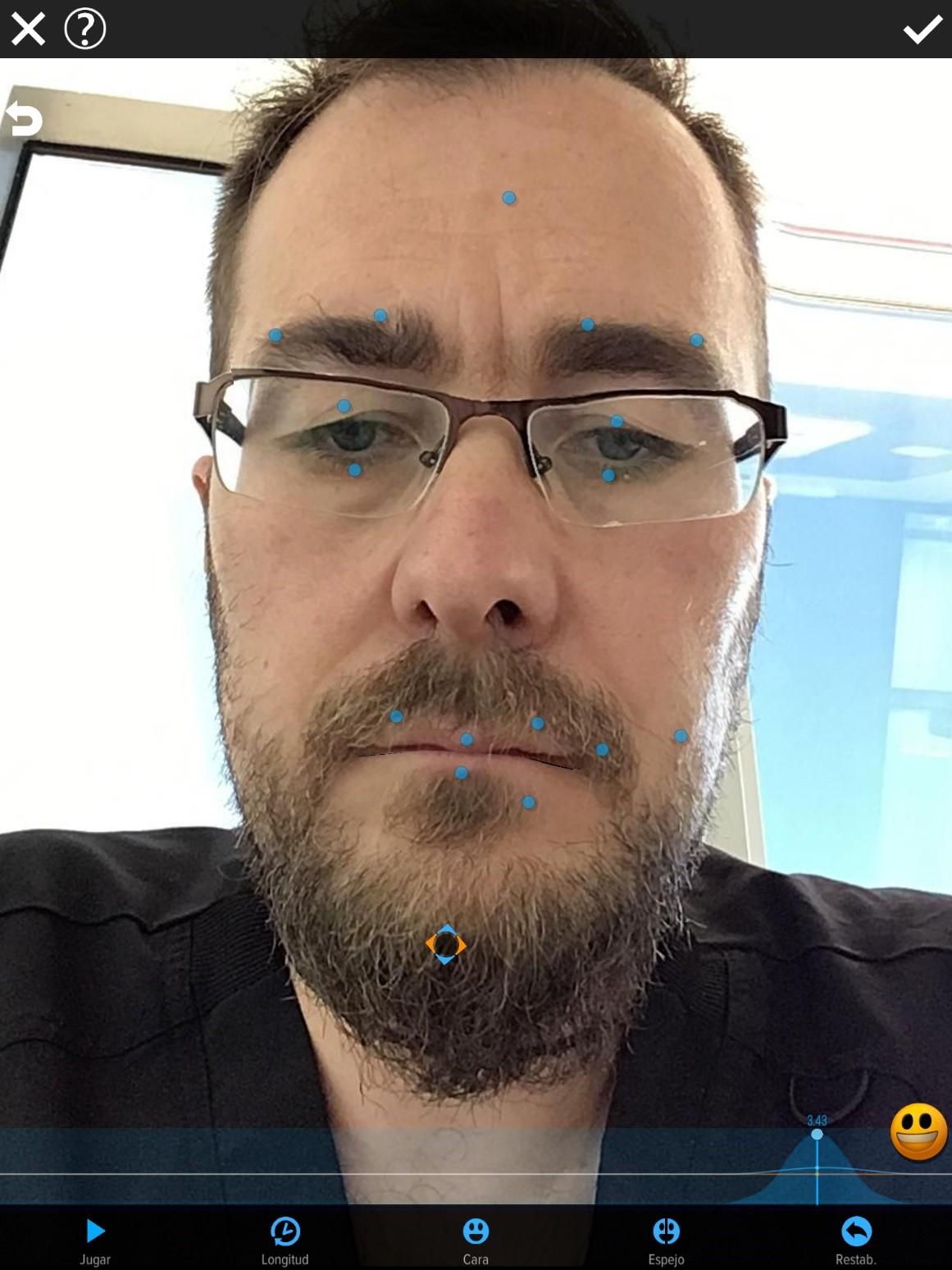 Uso de App de animación facial como complemento en Logopedia