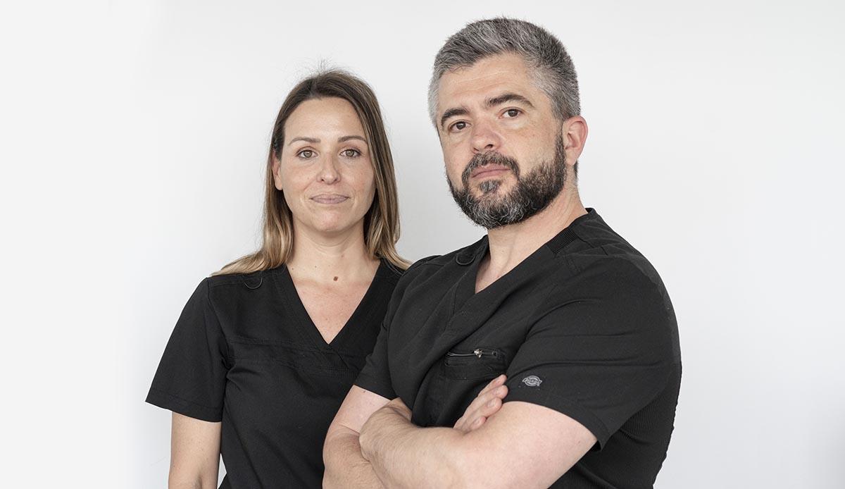 dr. Cristina y Jose